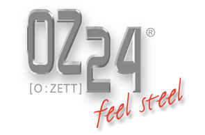 OZ24 - feel steel Logo